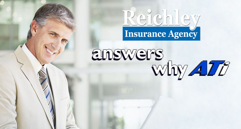 What is Reichley Insurance Agency saying about ATi?